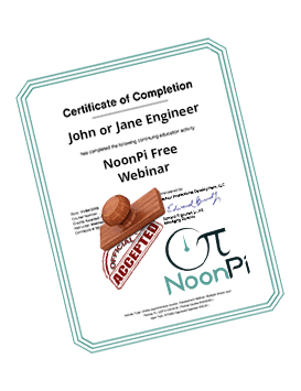NoonPi certificate of completion